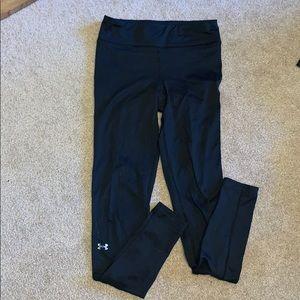 women's UA cold gear leggings- worn for running
